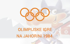 Olympic games on Jahorina