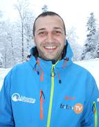 Ski instruktor OC Jahorina Mladen Cicović